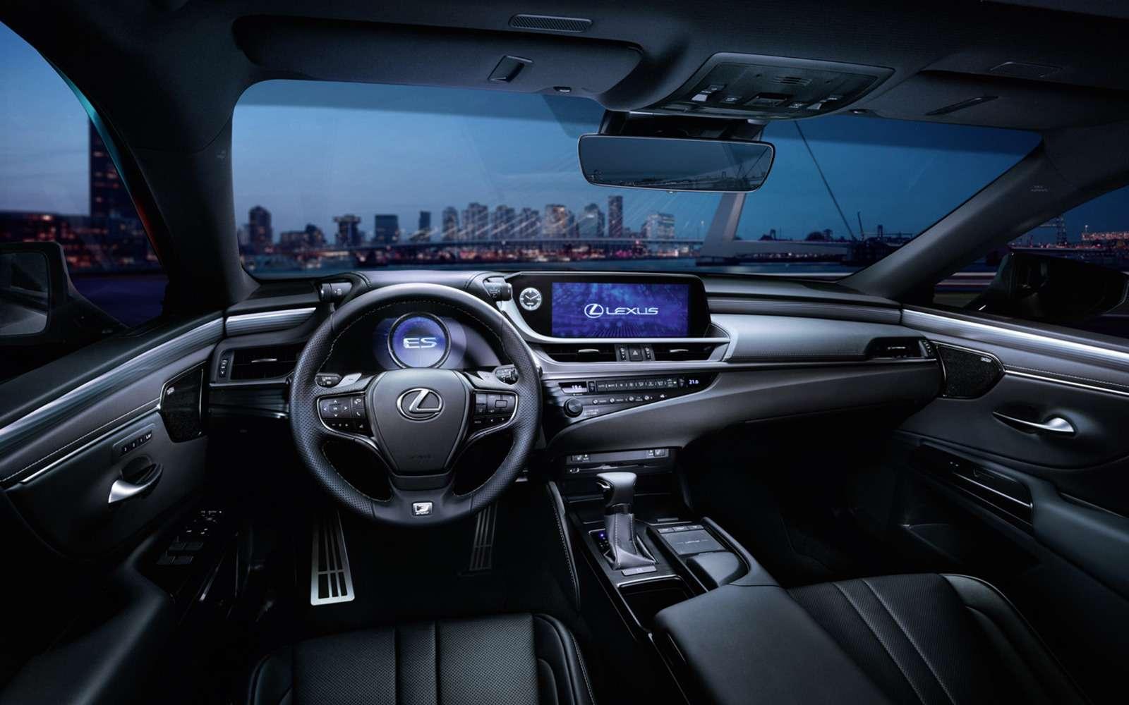 Новый Lexus ESдляРоссии: первые подробности— фото 877014