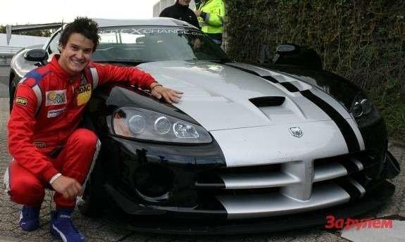 Dodge Viper SRT-10ACR and Dominik Farnbacher