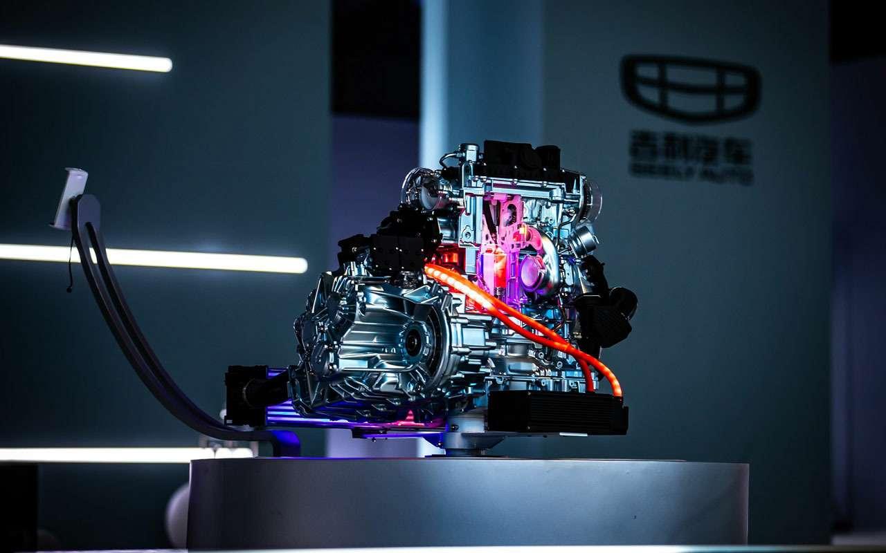 Китайское кросс-купе сдвигателем Volvo: скоро унас впродаже— фото 973934
