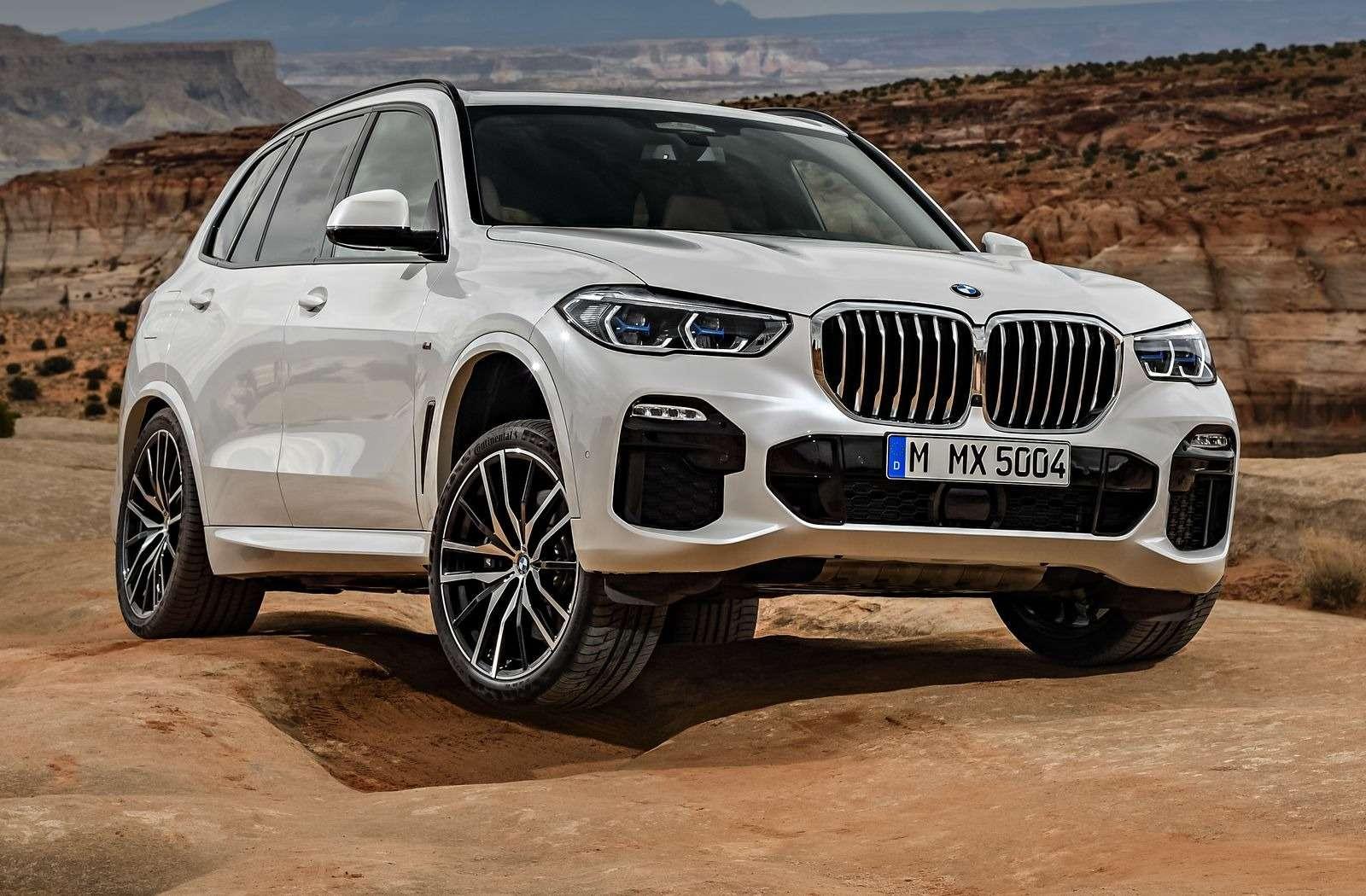 Новый BMW X5: приборная революция!— фото 876640
