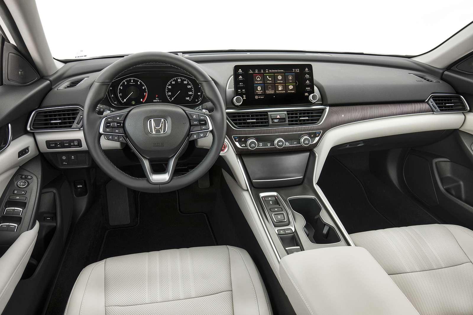 Honda показала конкурента Тойоты Камри. Появится лионунас?— фото 774922