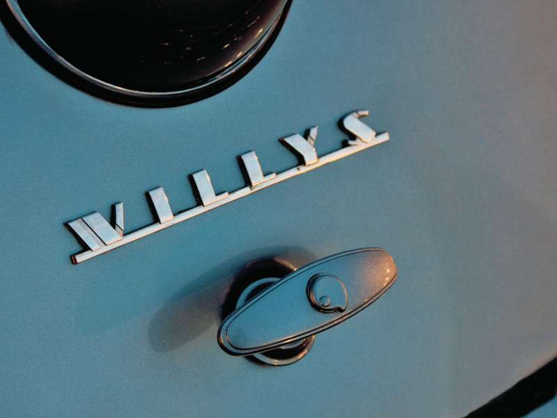 1940 chevrolet willys coupe+willys badge