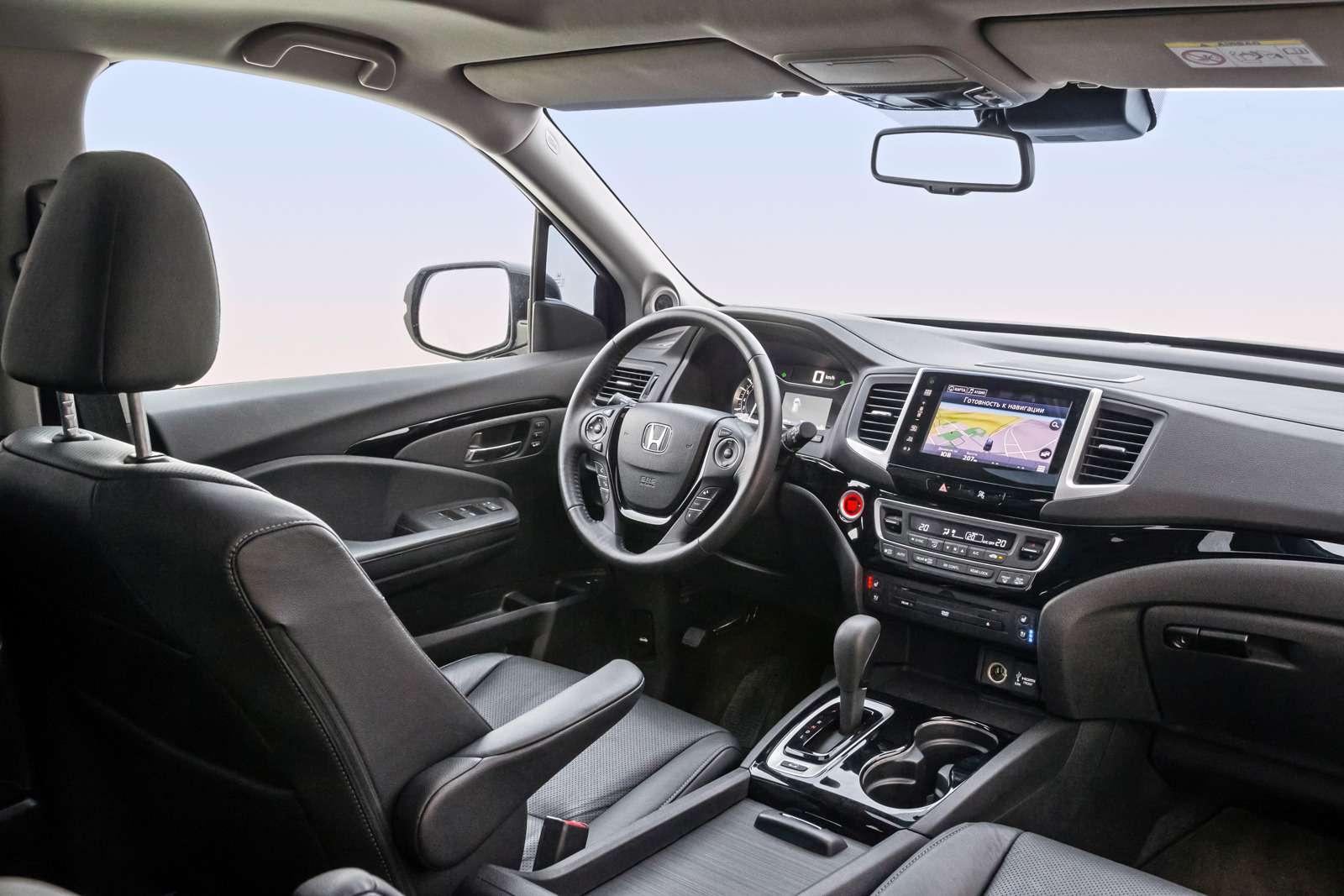 Тест полноразмерных кроссоверов: Honda Pilot, Kia Sorento Prime иFord Explorer— фото 614970