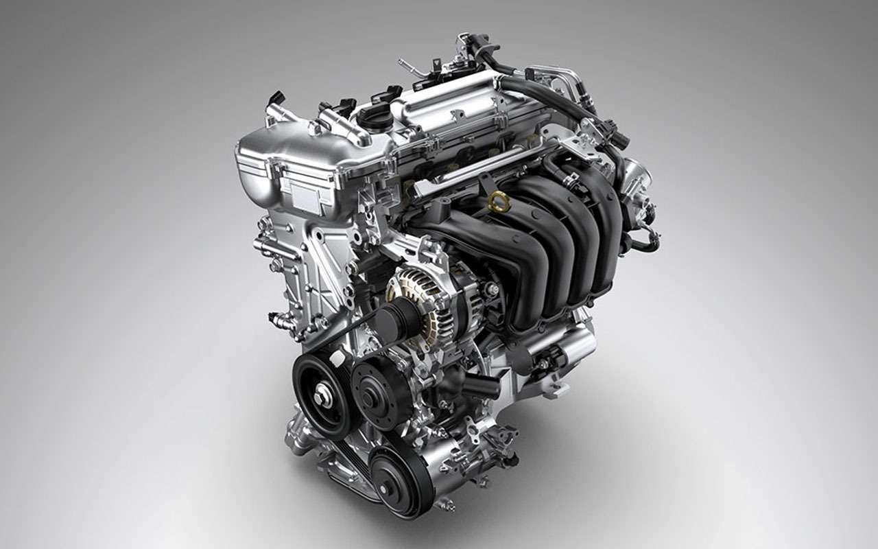 Новая Toyota Corolla появится вРоссии состарым мотором— фото 946752