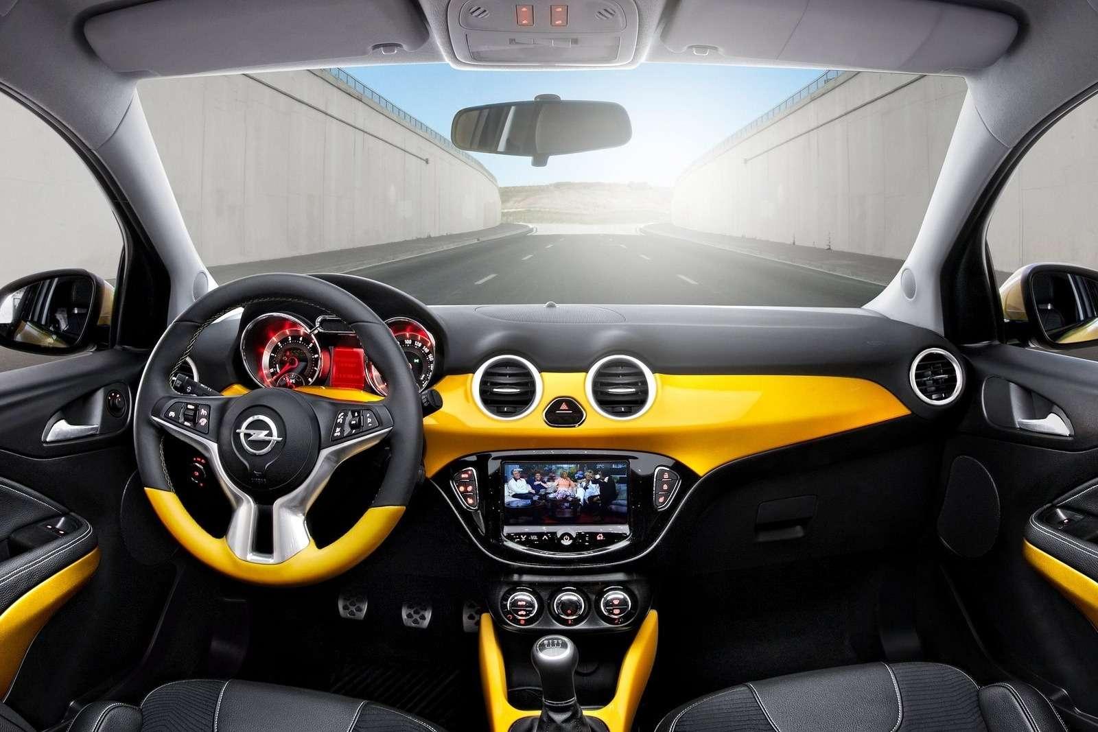Opel Adam inside
