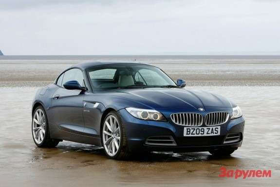 BMW Z4 side-front view