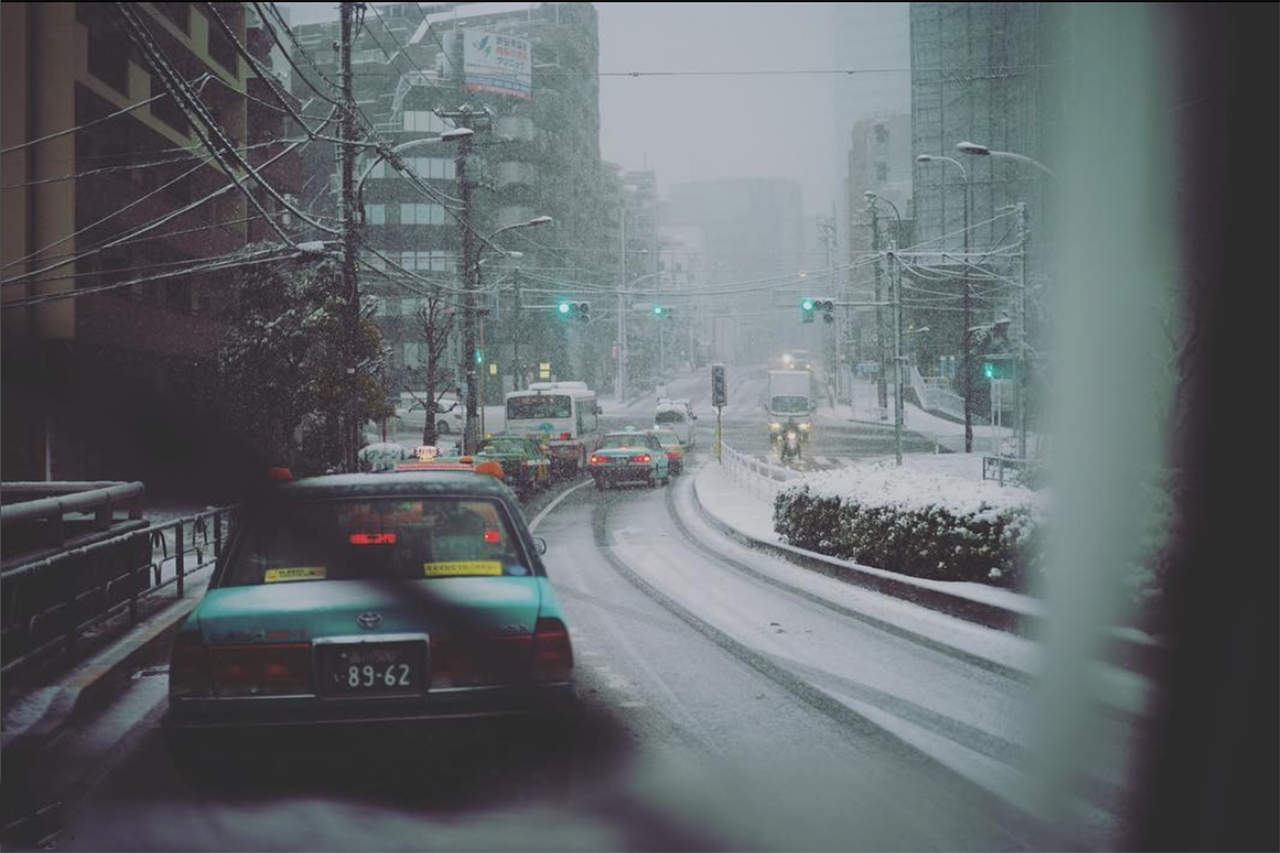 Снегопад вЯпонии: надорогах гибнут автолюбители— фото 845077