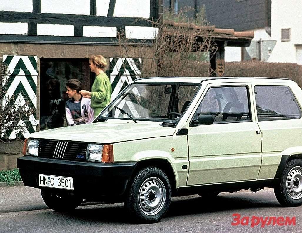 «Панда» образца 1991 года могла стать народным автомобилем,— вЕлабуге собирались выпускать такие сотнями тысяч вгод.