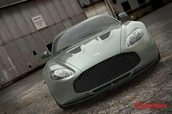 Aston Martin V12 Zagato front view