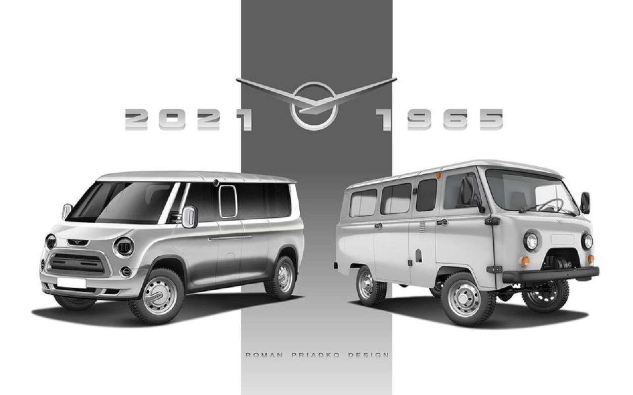 7 УАЗов будущего— отнезависимых дизайнеров— фото 1256716