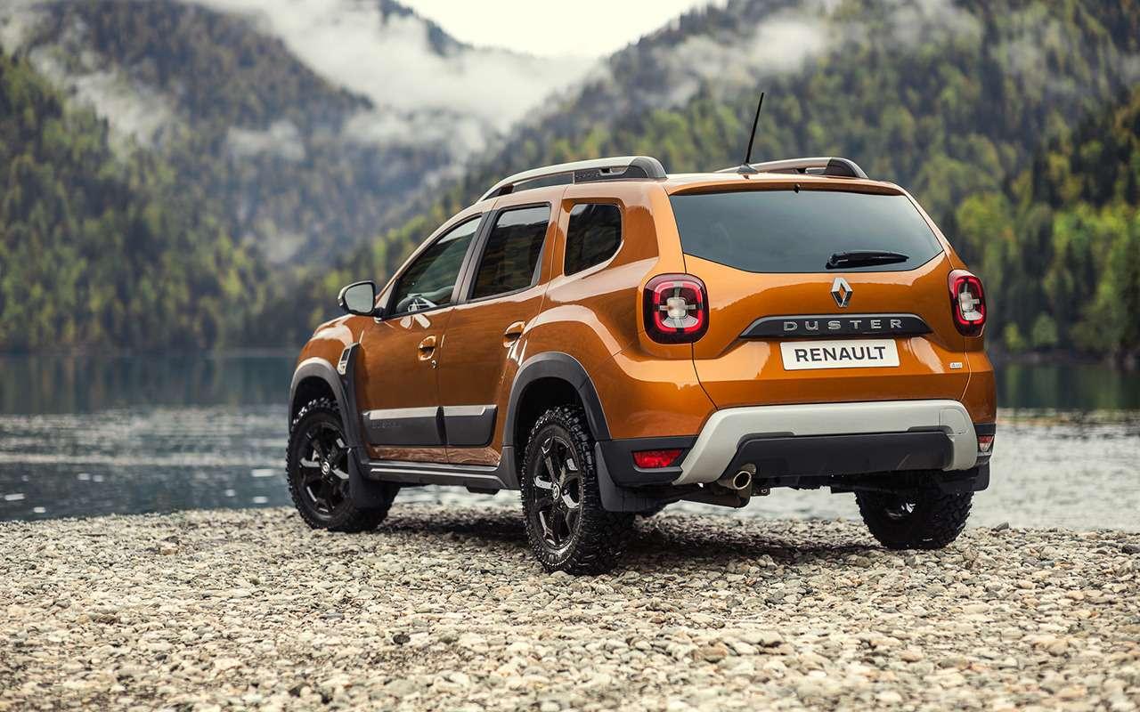 Новый Renault Duster— состоялась российская премьера— фото 1222907