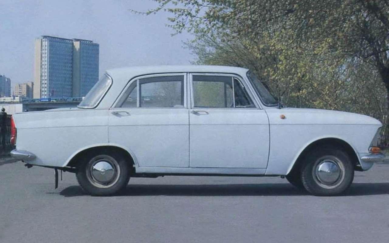 Мойпервый автомобиль— Москвич-408в коме— фото 847243