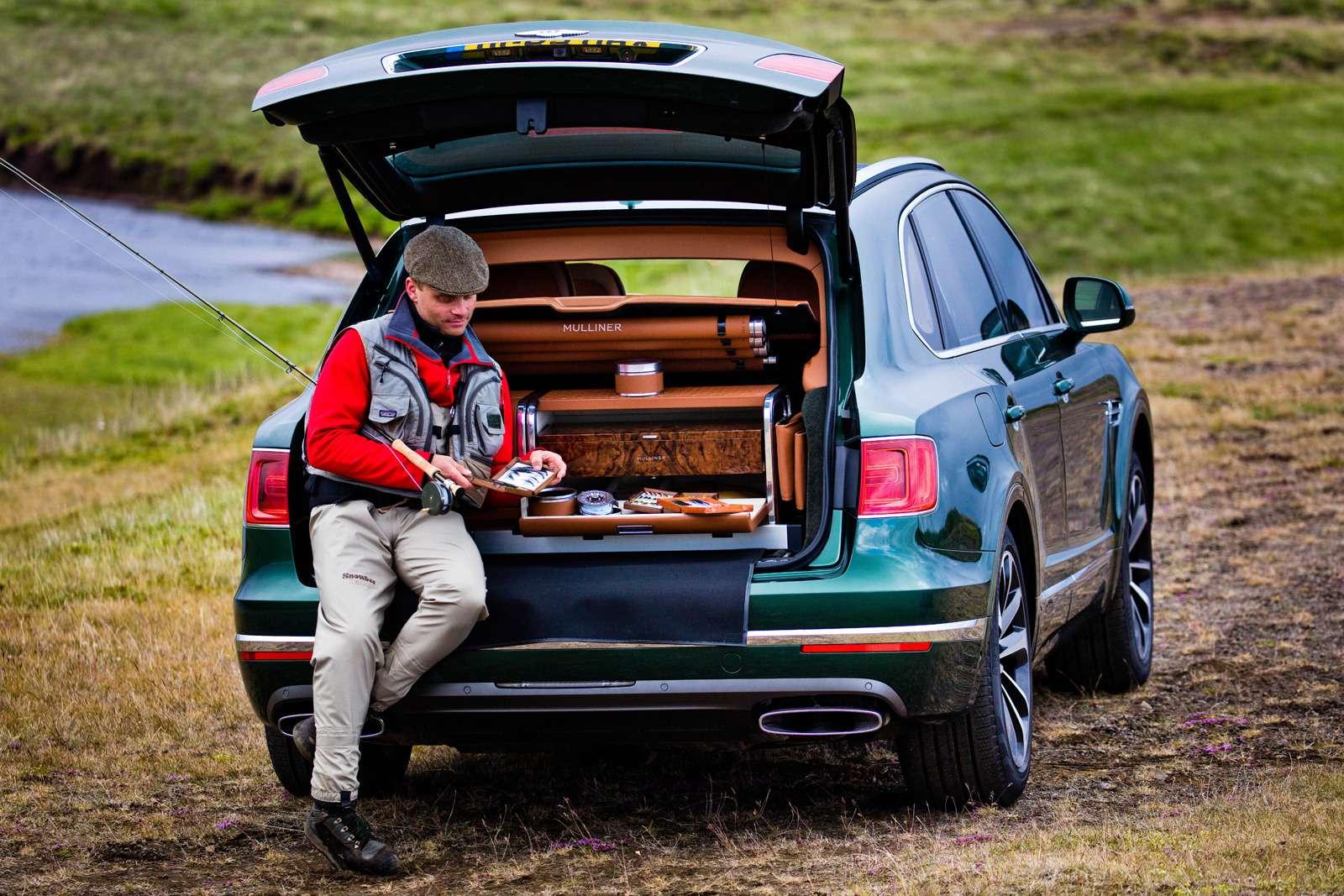 Bentley Bentayga поедет нарыбалку— фото 611159