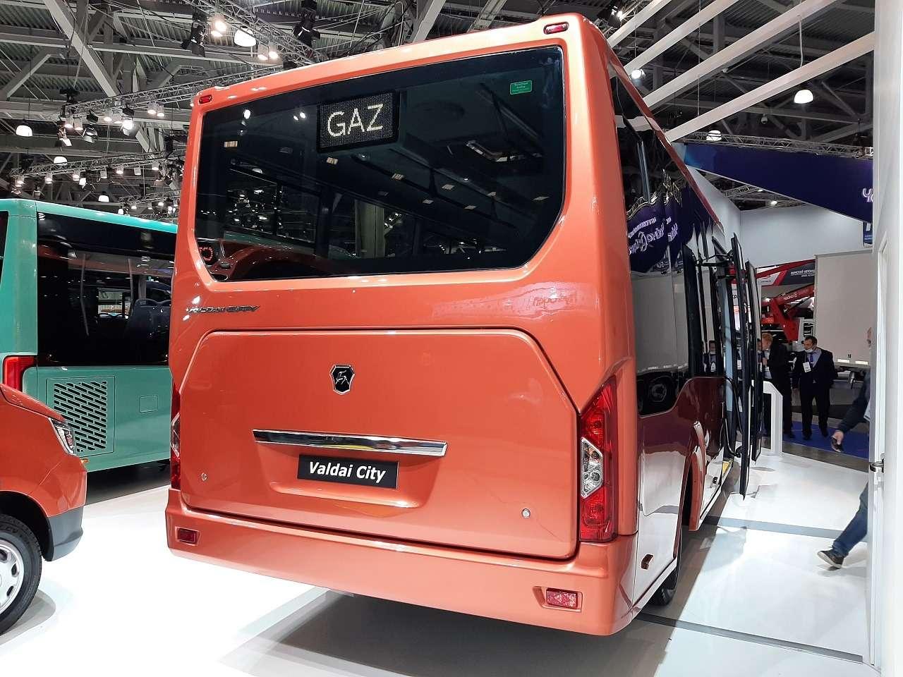 КакГАЗель, нобольше! ГАЗ показал автобус Валдай City— фото 1276212