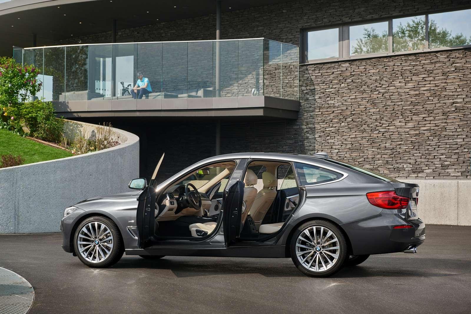 Обновленный BMW 3-й серии GT: урок эффективного менеджмента— фото 593847
