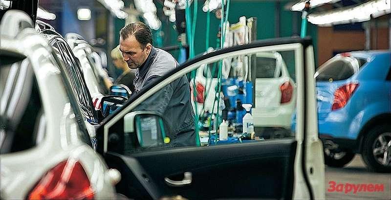 Сегодня основа модельного ряда завода «Соллерс-Дальний Восток»— кроссоверы «Мазда СХ-5» и«СанЙонг-Актион».