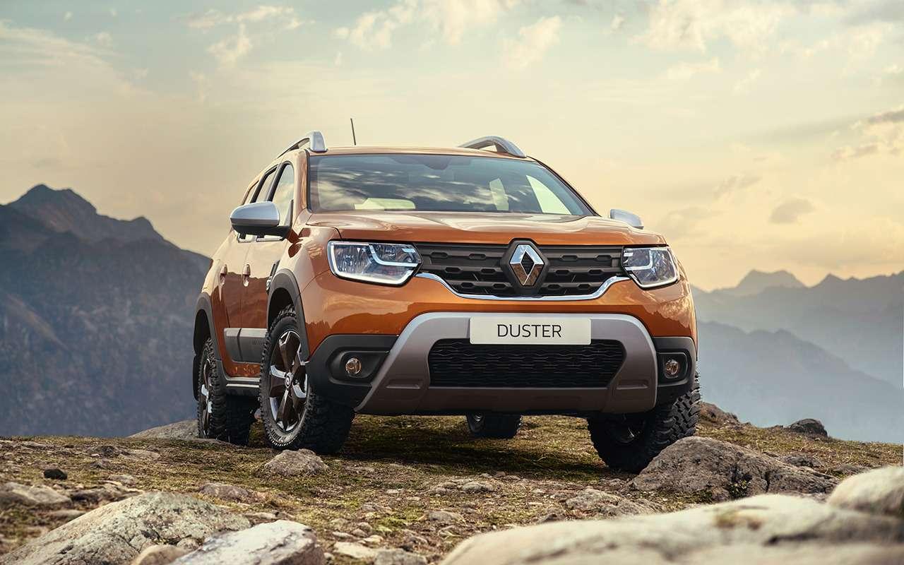 Вместо нового Renault Duster: 4б/у кроссовера замиллион— фото 1234305
