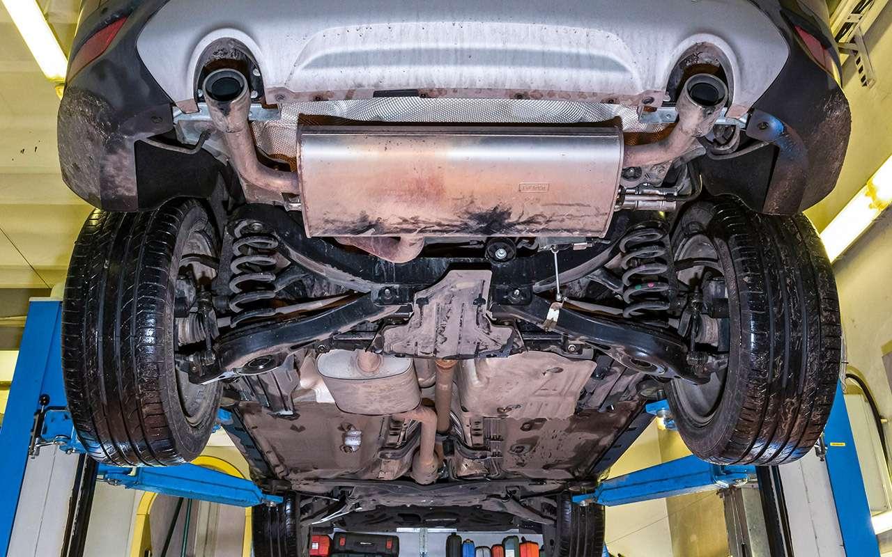 Чейполный привод круче— Ford Kuga или Mazda CX-5?— фото 825747