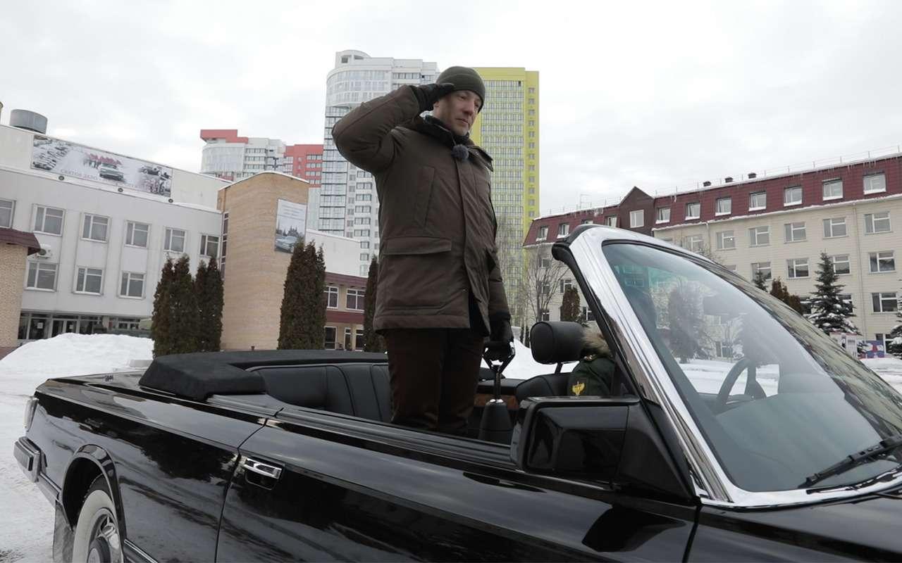Главный автомобиль Парада Победы: кабриолет Шойгу— фото 864411