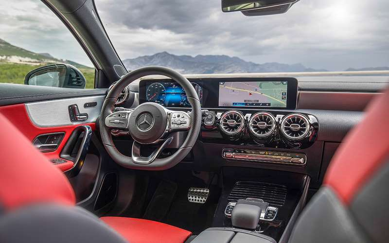 Mercedes-Benz А-класса: как большой