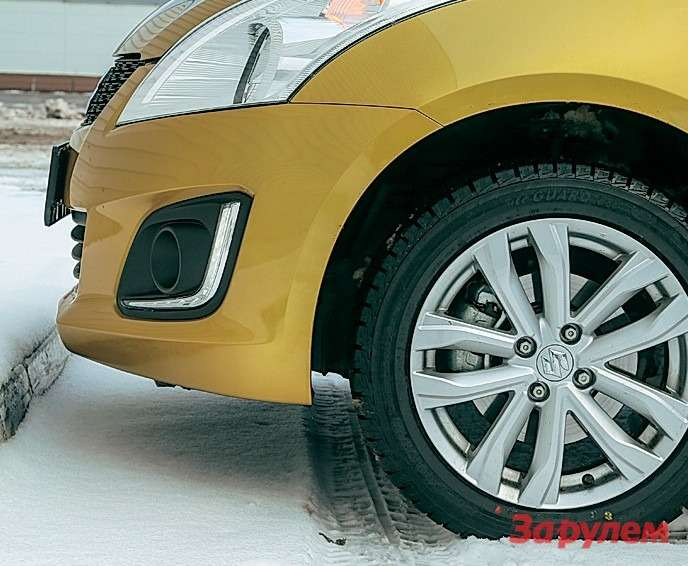 Полноприводный Suzuki Swift: свифтопляска— фото 258927