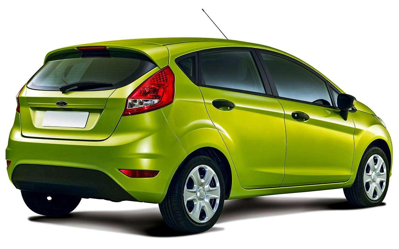 Ford Fiesta: полный список неисправностей— фото 941927