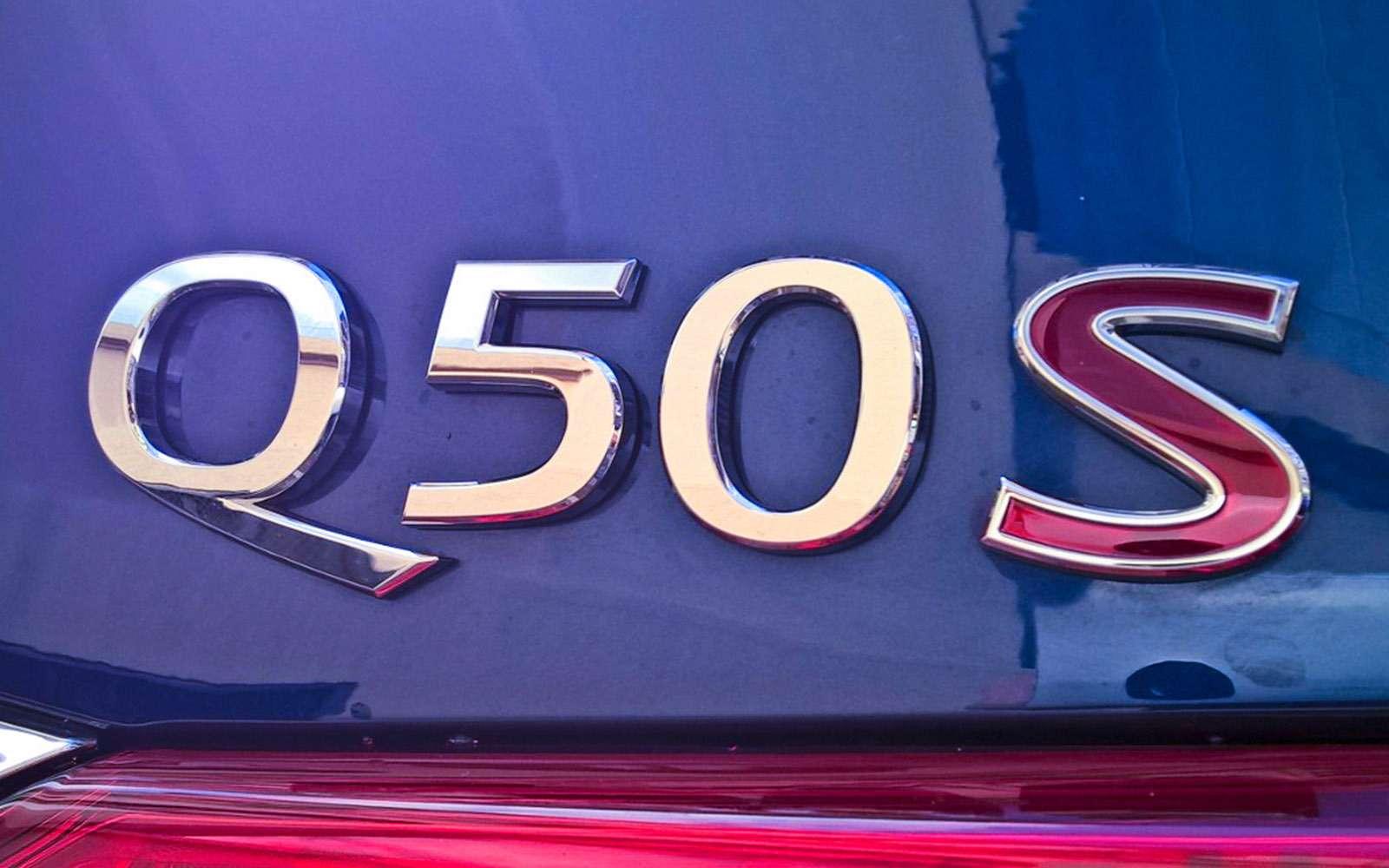 Кроссовер Infiniti QX30и полноприводный седан Infiniti Q50: би-турбо— фото 690748