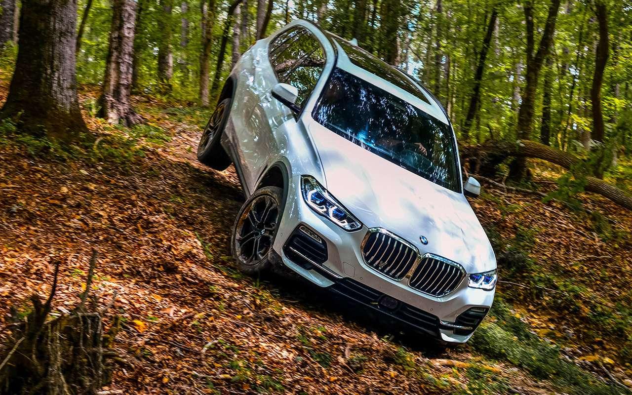 Новый BMW X5—  тест-драйв ввездеходных режимах— фото 912226