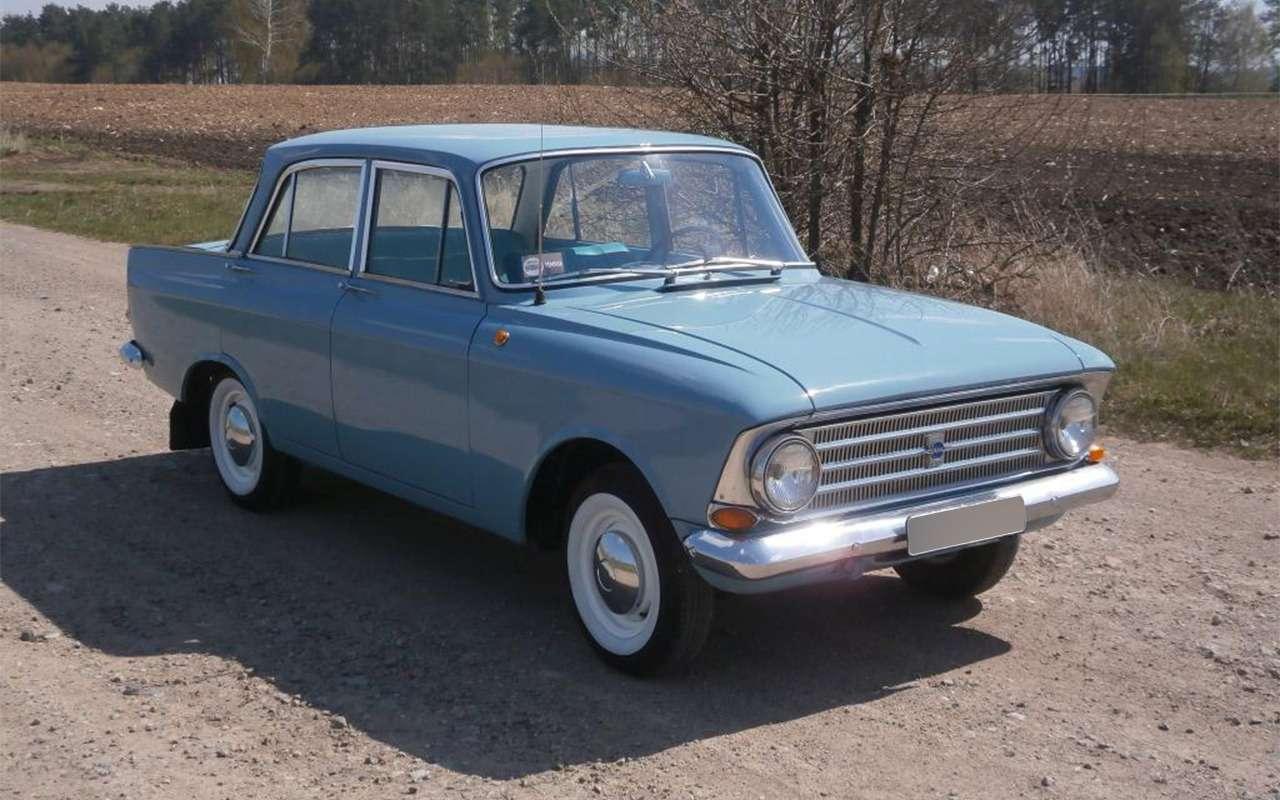Мойпервый автомобиль— Москвич-408в коме— фото 847330