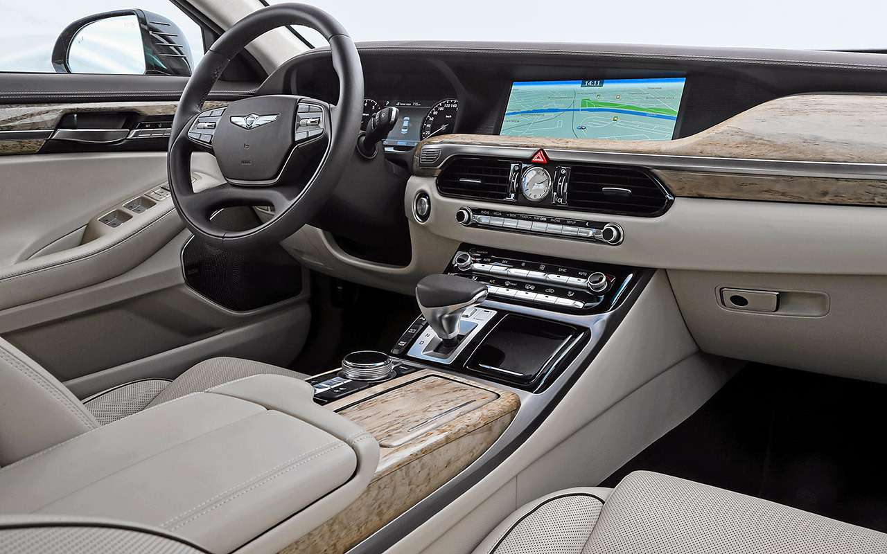 Большой тест престижных седанов: новый Lexus LS500и конкуренты— фото 928748
