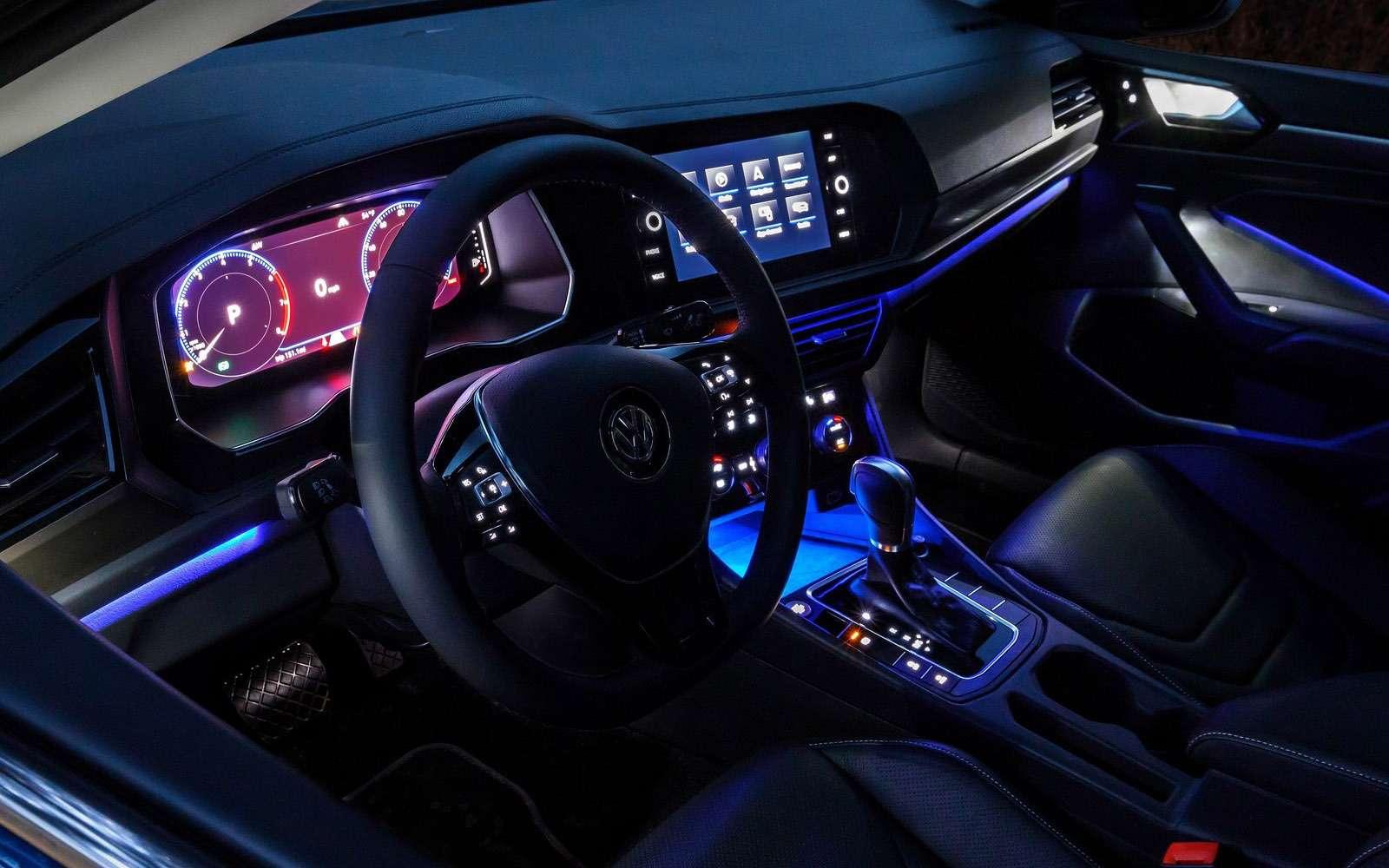 Новый Volkswagen Jetta: один мотор ичетыре комплектации— фото 835852