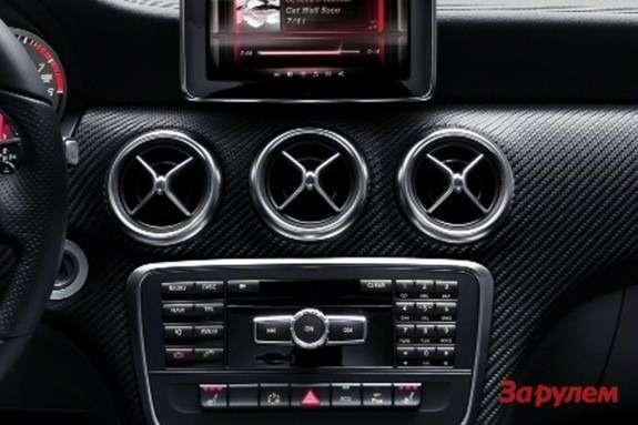 Mercedes-Benz A-class inside 2