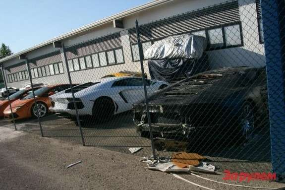 Lamborghini Aventador test prototype 2