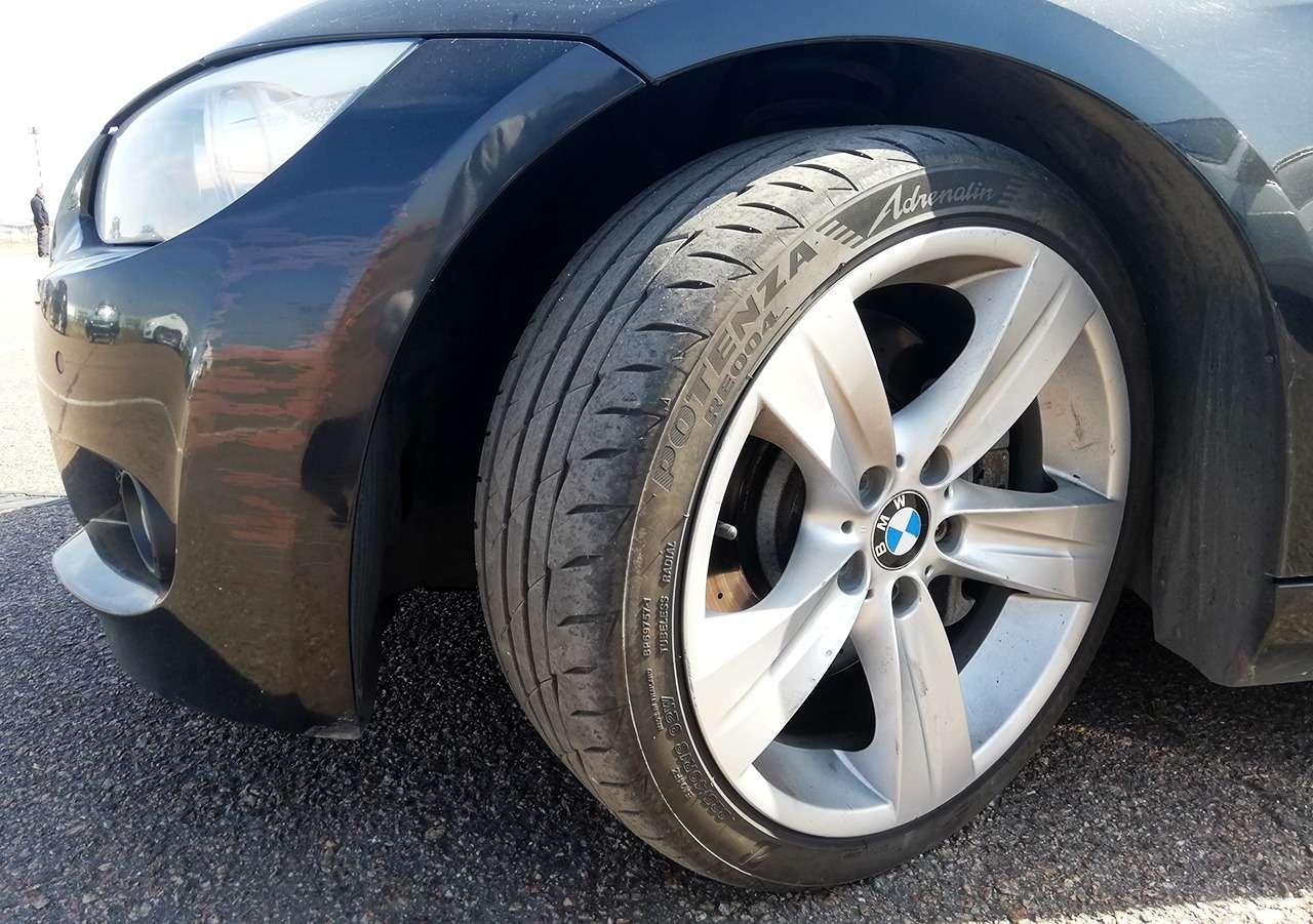Сцепление и…ударопрочность— как явыбирал шины длябыстрой тачки— фото 1249887