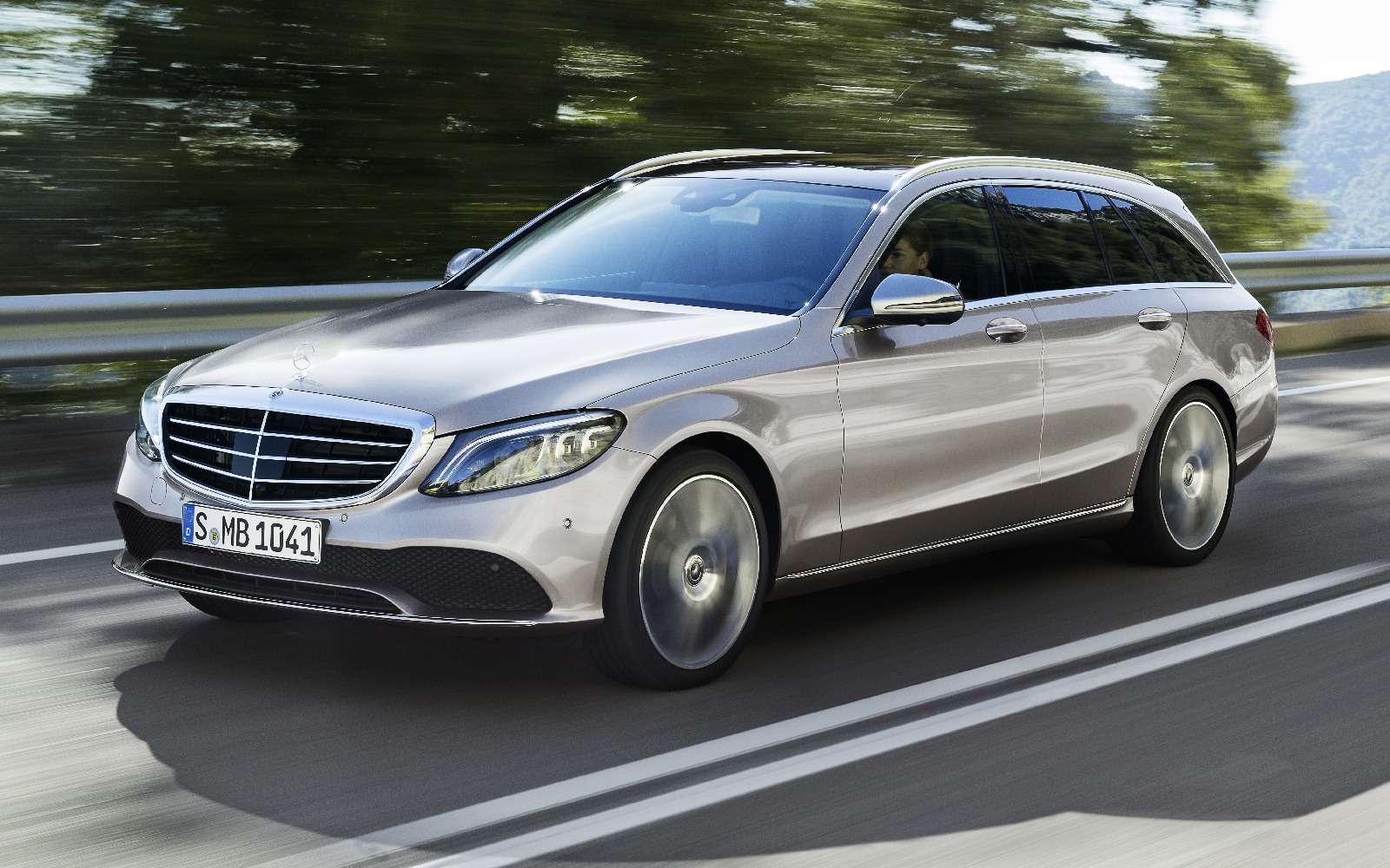 Обновленный Mercedes-Benz C-класса: посмотри ему вглаза— фото 845035
