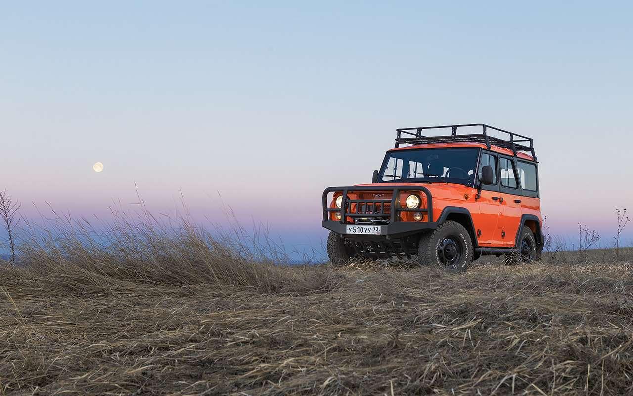 Рыжая «Экспедиция»— стартовали продажи внедорожника УАЗ Хантер— фото 973003
