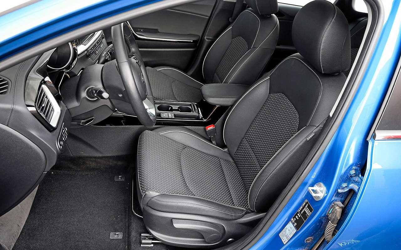 Новая Mazda 3, VWGolf иKia Ceed: большой тест— фото 1007214