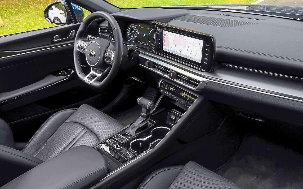 Kia K5, Sonata, Camry - большой тест - фото 1174412