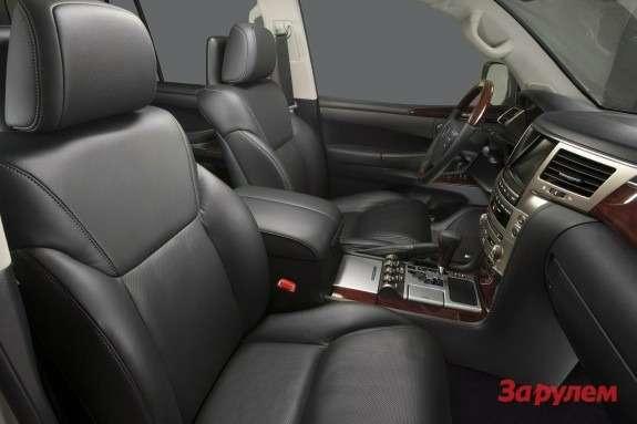 Restyled Lexus LX570 inside 2
