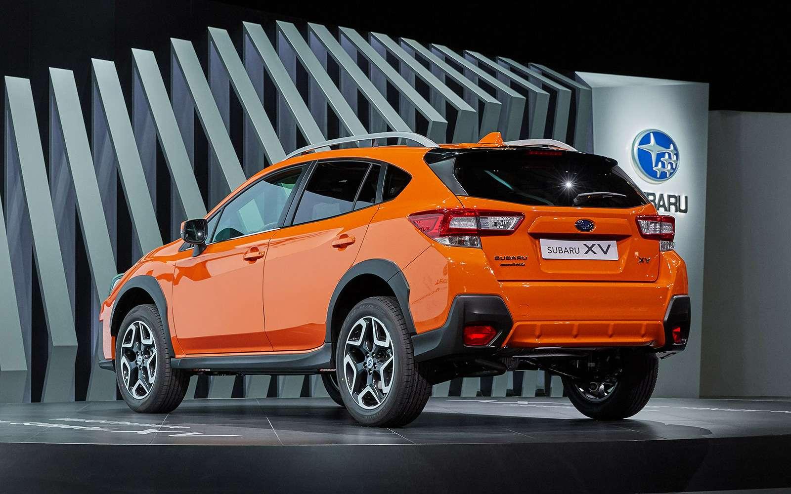 Новый Subaru XVбудет поступать ссоперниками жестко!— фото 717931