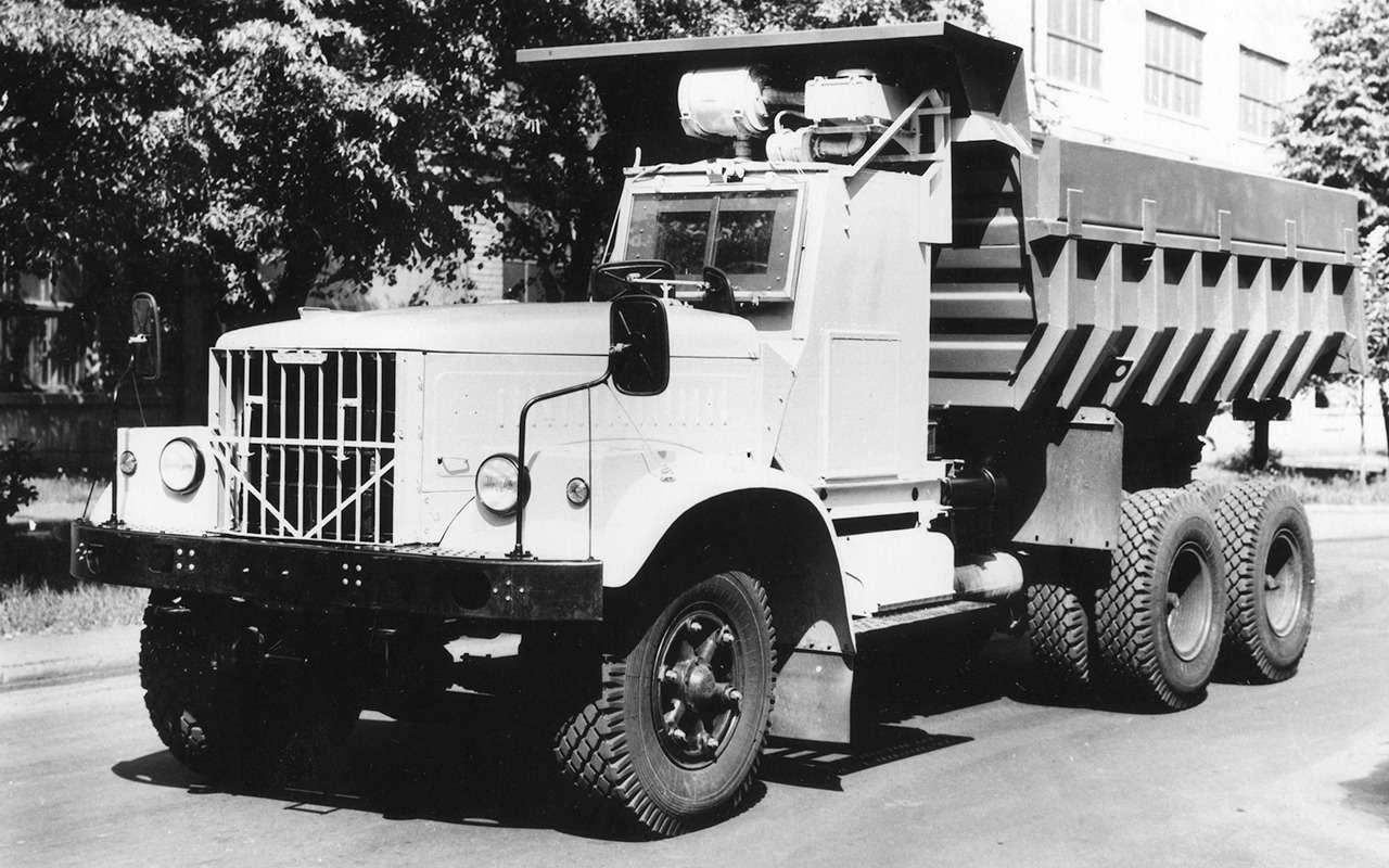 Наши грузовики, которых выникогда не видели— фото 875235