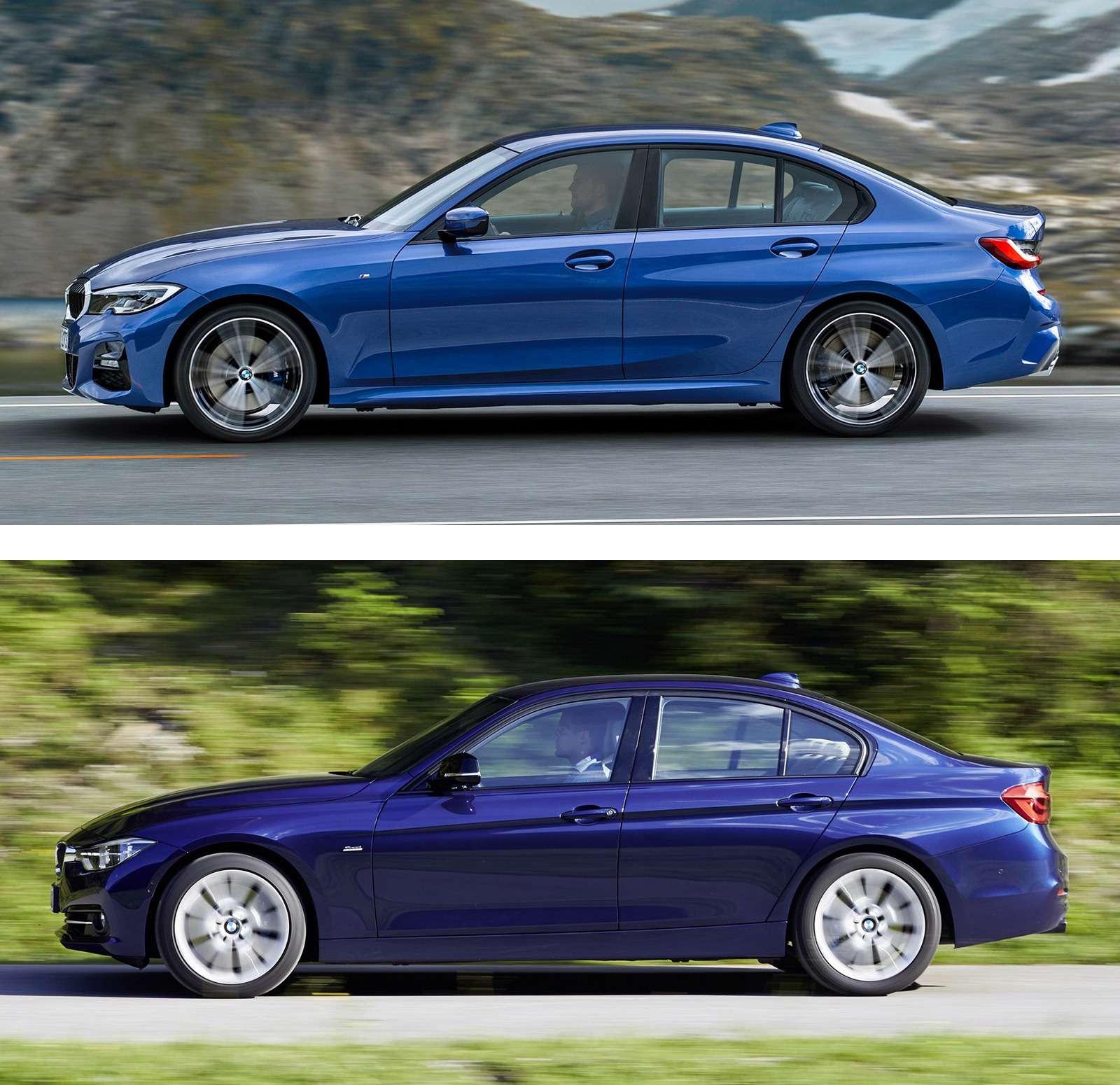 Новая BMW 3-й серии против старой: какая красивее?— фото 912577