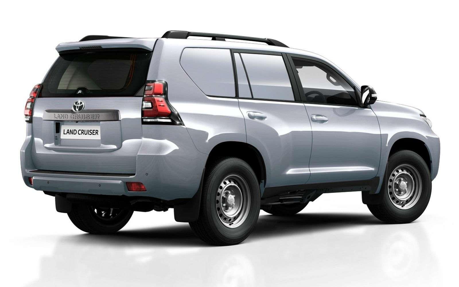 Toyota представила бюджетную версию внедорожника Land Cruiser Prado— фото 861940