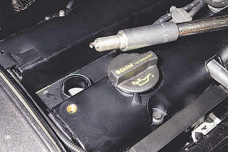 Форд фокус 2 замена свечей зажигания 1.6 своими руками
