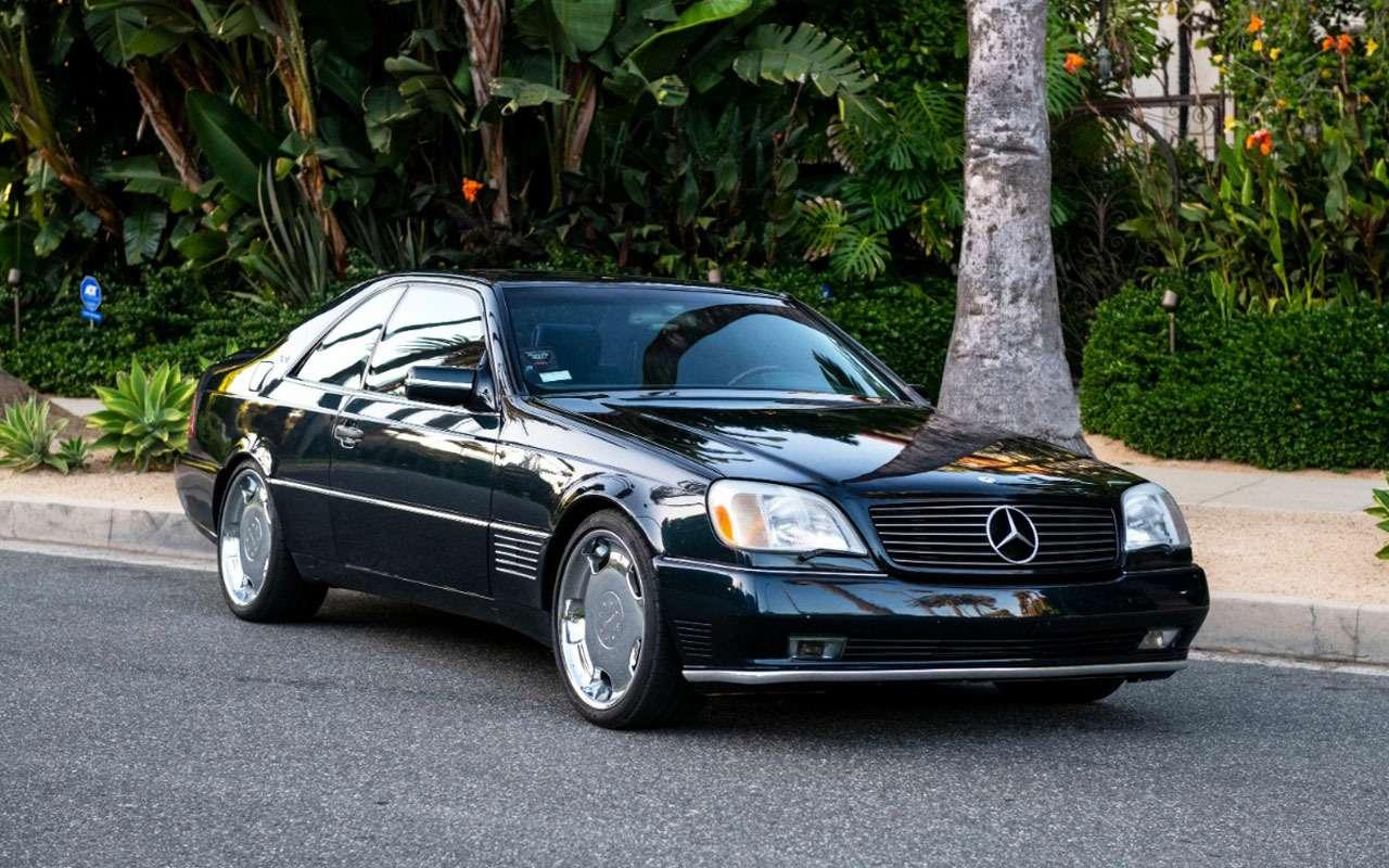Продается любимый Mercedes Майкла Джордана— фото 1158211