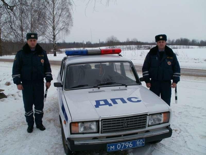 «Дни спасателя» в ГИБДД: Псков
