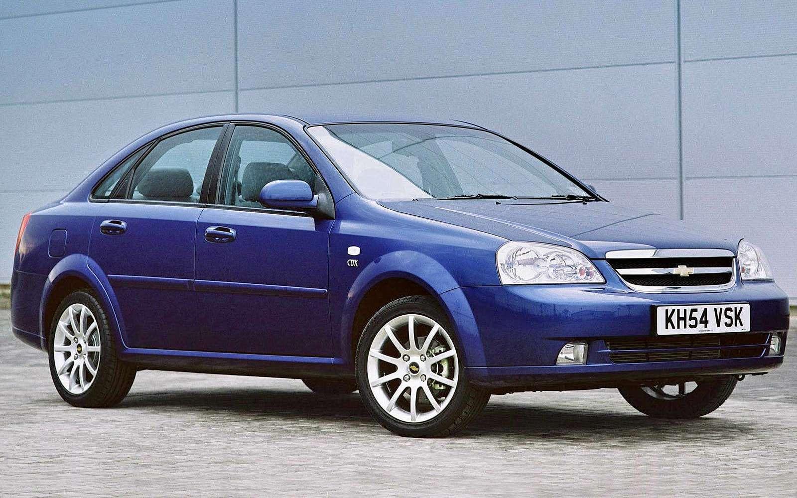 Седан Chevrolet Lacetti