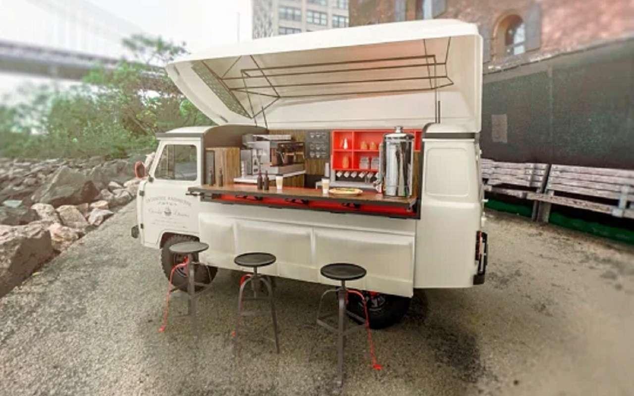 Какгорячие пирожки: передвижное кафе набазе «буханки»— фото 1121911