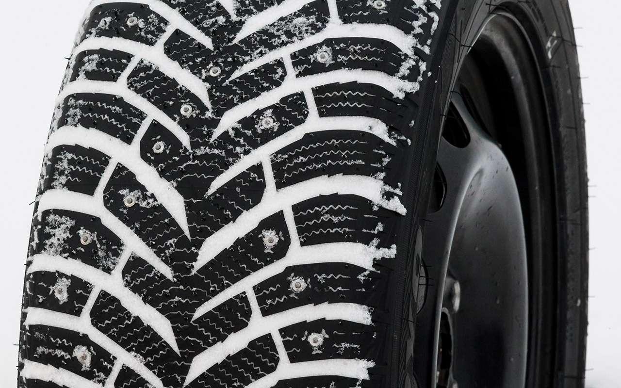 Большой тест шипованных шин: дорогие, подешевле и«никакие»— фото 1003236