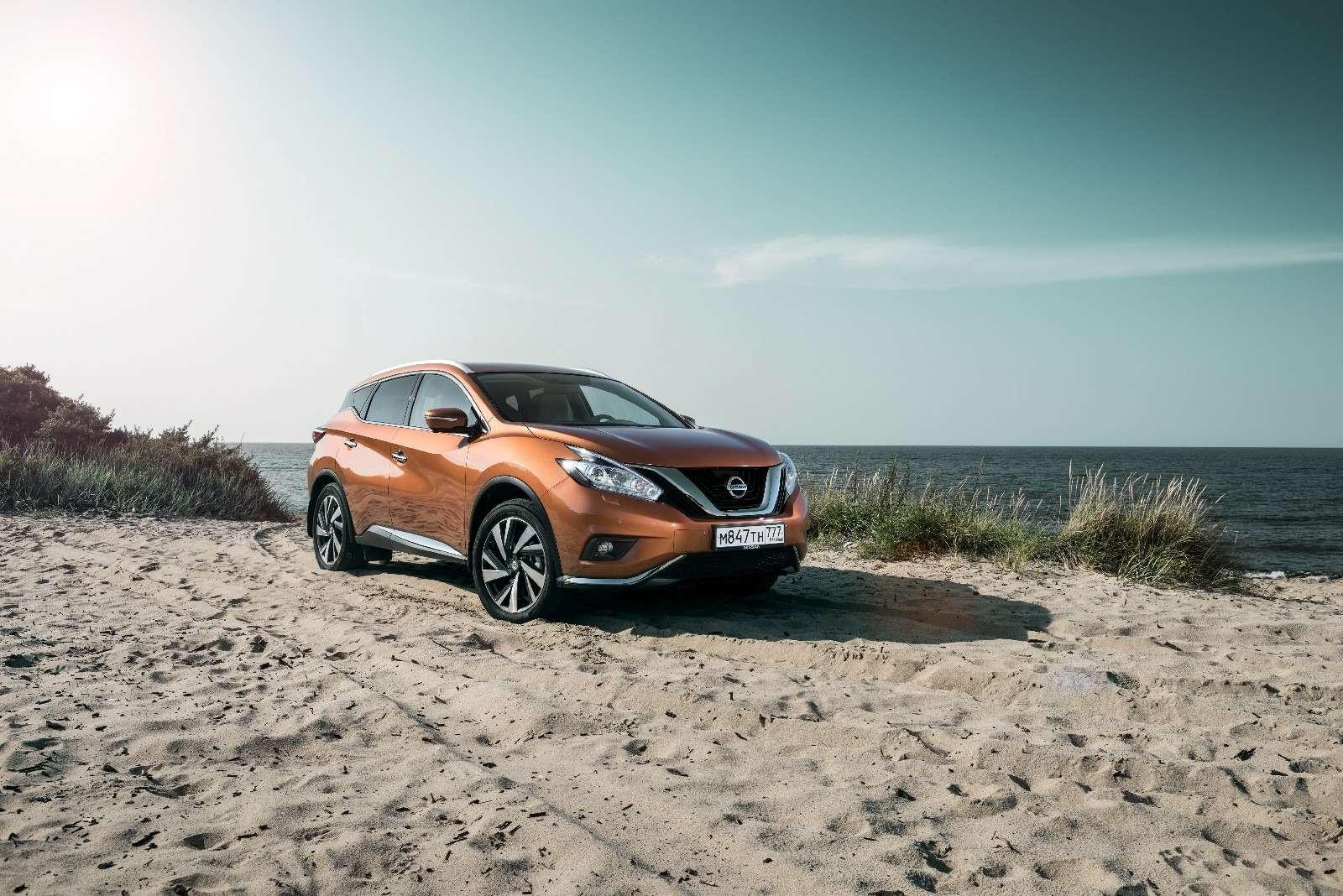 Объявлены рублевые цены нановый Nissan Murano— фото 614359